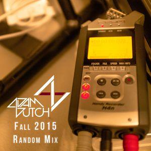 Fall 2015 Random Mix