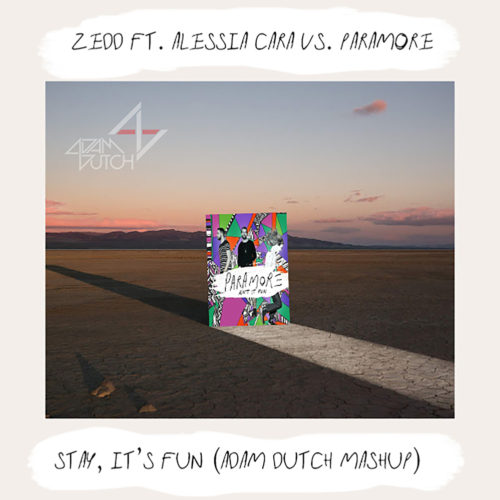 Stay, It's Fun (Adam Dutch Mashup) - Zedd & Alessia Cara vs. Paramore